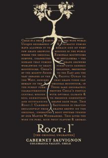 Root:1 Cabernet Sauvignon NV Label NV
