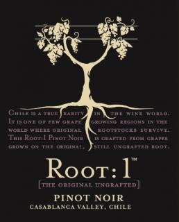 Root:1 Pinot Noir NV Label
