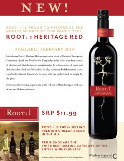 Root: 1 Heritage Red Introduction Sell Sheet