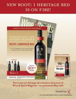Root:1 Heritage Red 2013 90 pts Best Buy W&S Ad Sell Sheet