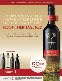 Root:1 Heritage Red 2013 90 pts Best Buy AD