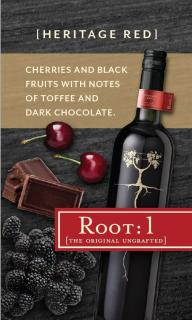 Root: 1 Share a Glass Tasting Card Heritage Red