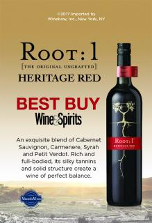 Heritage Red Wine & Spirits 'Best Buy' ST
