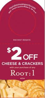 $2 off Cheese & Crackers WP IRC [FY182H]