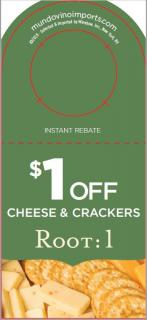 $1 off Cheese & Crackers NPR [FY182H]