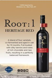 Heritage Red NV Shelf Talker