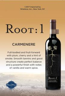 Carmenere NV Shelf Talker