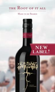Root:1 Heritage Red Tasting Card NEW LABEL