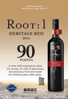Heritage Red 90 Pts Descorchados ST