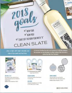 'New Year, New You' Program Sell Sheet FY18
