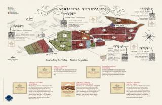 Adrianna Vineyard Map