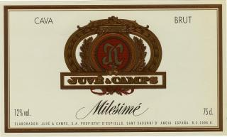 Juve & Camps Milesime Brut Label