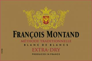 Francois Montand Extra Dry Front Label