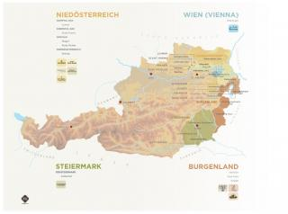 C+E Fold-Out Austrian Portfolio Map 2018 - Printed Version
