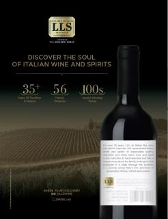 LLS Wine Spectator Ad April/May 2018
